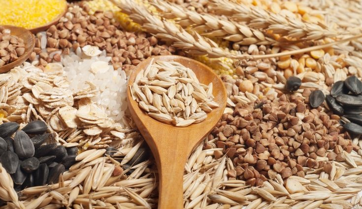 Los cereales y derivados contienen vitaminas B1, B2, B3, B12 y E
