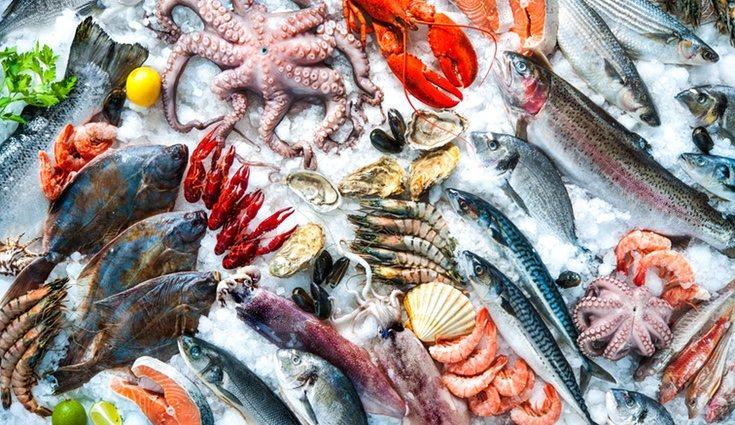 El pescado contiene las vitaminas B3, B9, A, D y K
