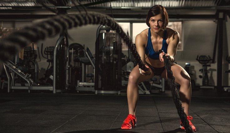 Este entrenamiento requiere resistencia, potencia, equilibrio y fuerza