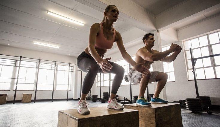 El crossfit es un ejercicio donde se trabajan distintas partes del cuerpo