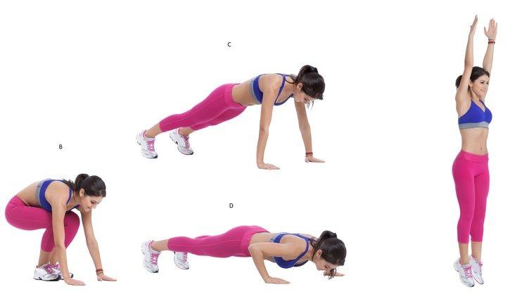 A pesar de ser un ejercicio cansado es uno de los más completos