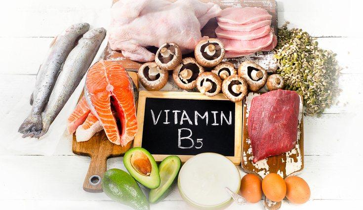 La vitamina B5 forma parte de una gran cantidad de procesos biológicos