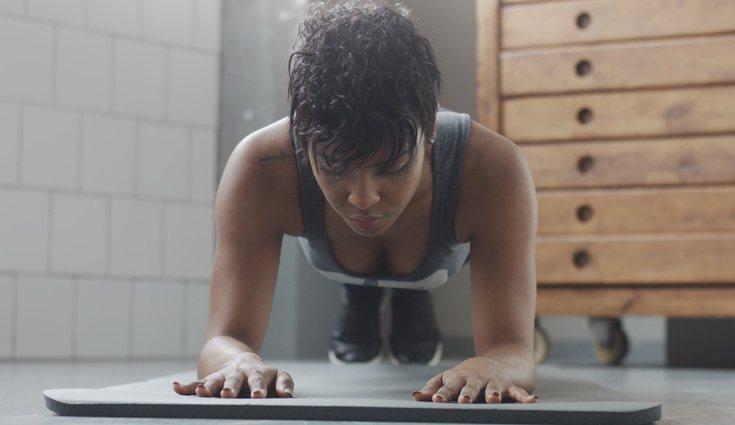 La rutina de ejercicios hace que con el tiempo sean visibles los cambios