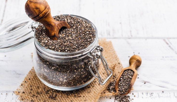 La semilla de chía tiene una importante fuente de enrgía