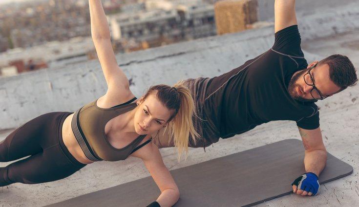 A veces un lado del cuerpo es más fuerte y flexible que el otro; el Body Balance elimina este desequilibrio que puede provocar lesiones, dolor y molestias