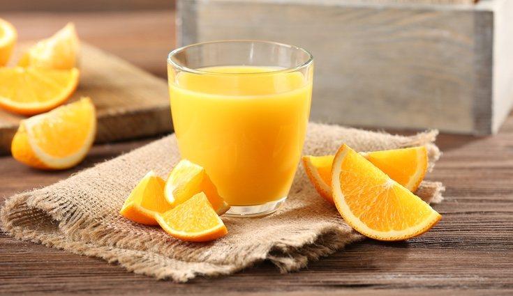 Las naranjas contienen fibra, hierro, fósforo y potasio
