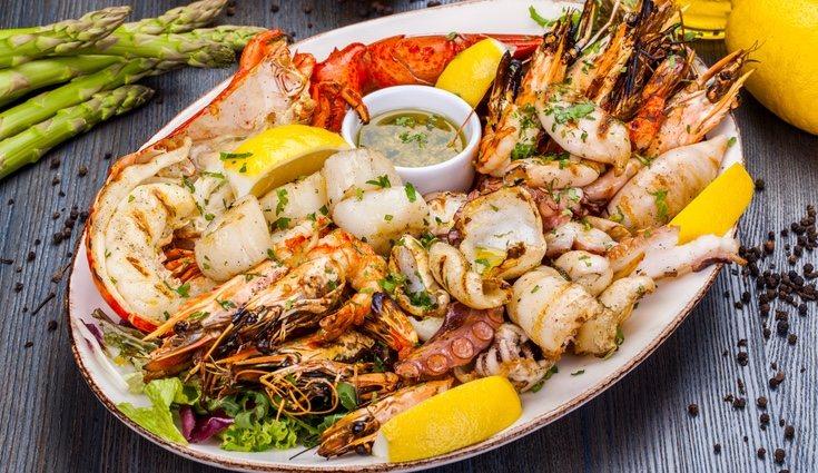 El marisco está completamente prohibido para las personas con un nivel de colesterol alto