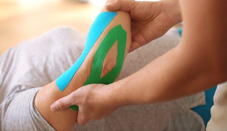 kinesiotape se utilizan en algunos tratamientos de kinesioterapia