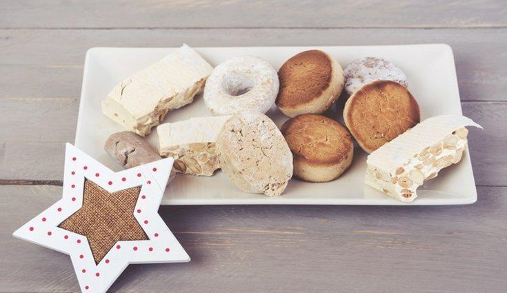 El polvorón es una torta pequeña típica de las fiestas de Navidad