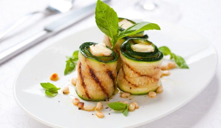 El calabacín es una de las verduras que menos calorías tiene