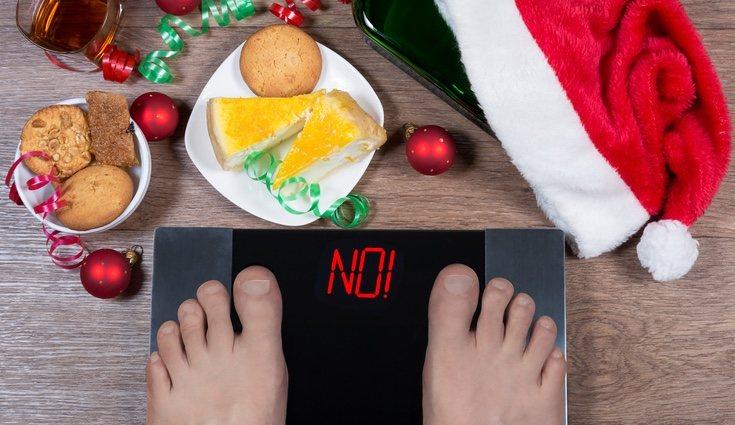 Es normal coger unos kilos de más en Navidades pero tienes que mentalizarte para intentar perderlos