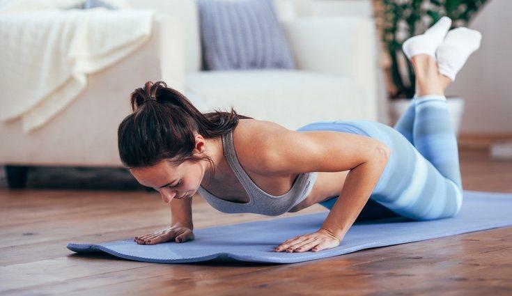 Se debe de aumentar progresivamente las repeticiones de los ejercicios