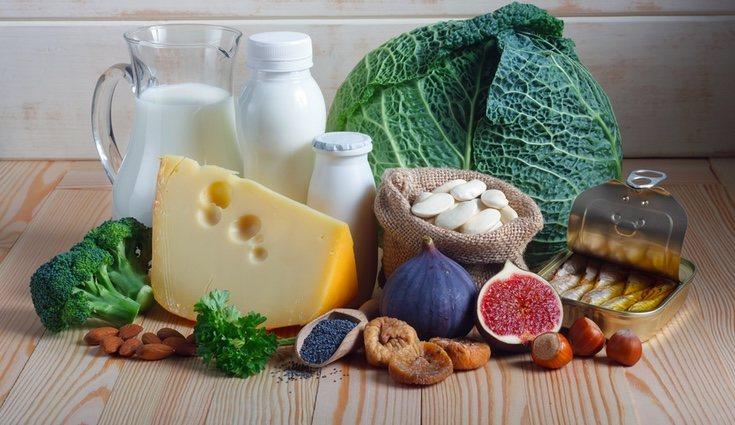 No todo es leche, de hecho hay numerosos alimentos que son fuentes ricas en calcio