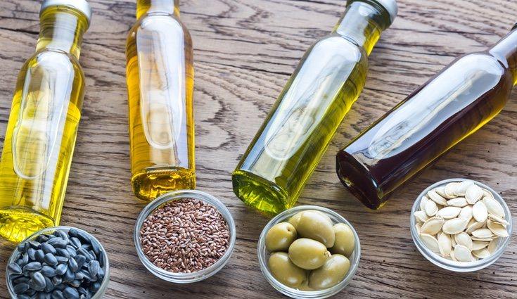 Los aceites vegetales como el de oliva o el de maíz contienen Omega 3