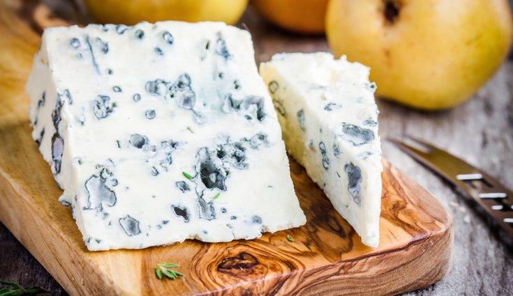 El queso roquefort es de esos denominados 'fuertes'