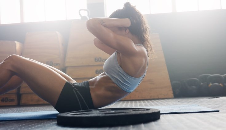 Uno de los errores más comunes es olvidar contraer el músculo