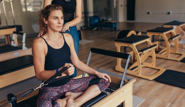 Se trabajan los oblicuos, siendo estos unos de los ejercicios más exigentes de la actividad