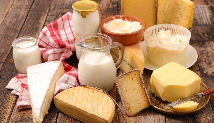 Los derivados de la leche también contienen estos nutrientes y vitaminas