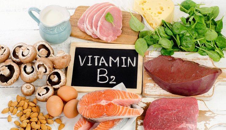 La vitamina B2 no se entra solo en la leche