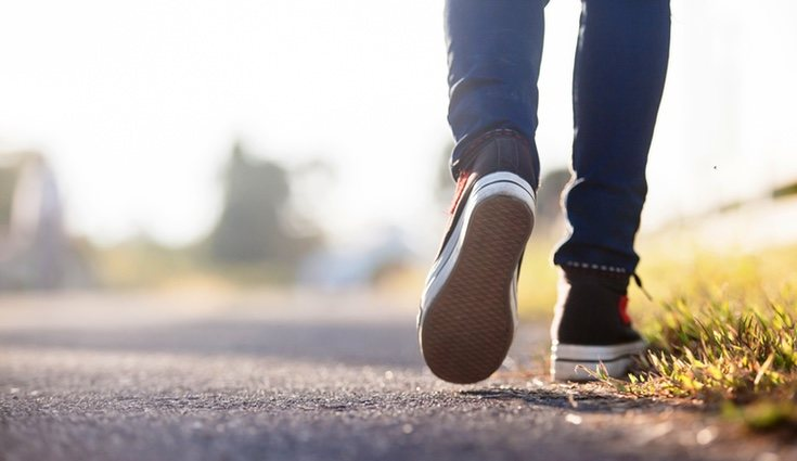 Andar una hora al día tiene grandes beneficios