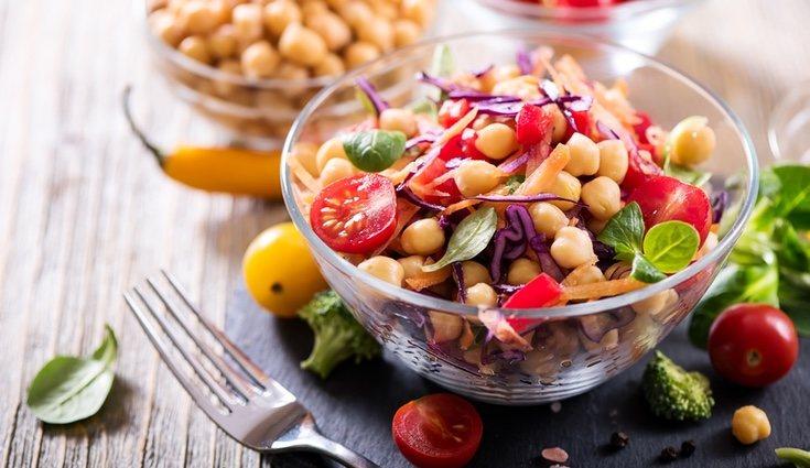 Los productos vegetales con más hierro son los cereales