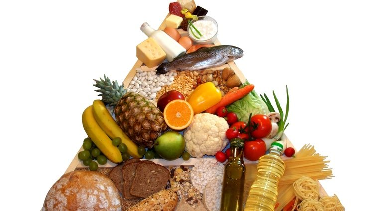 Los cereales, las frutas, las verduras y las legumbres contienen mucha fibra