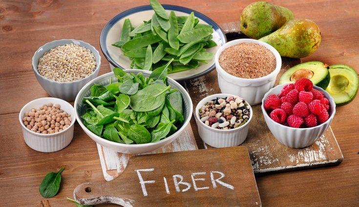 Ten cuidado con el exceso de fibra porque es muy molesto para el estómago