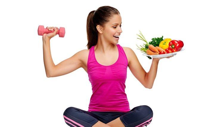 Hay que mantener un equilibrio con la alimentación y el ejercicio