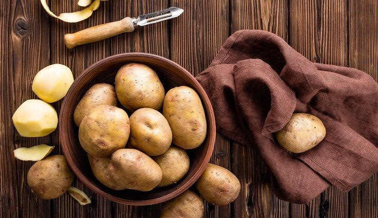 La patata aporta 80 calorías por cada 100 gramos