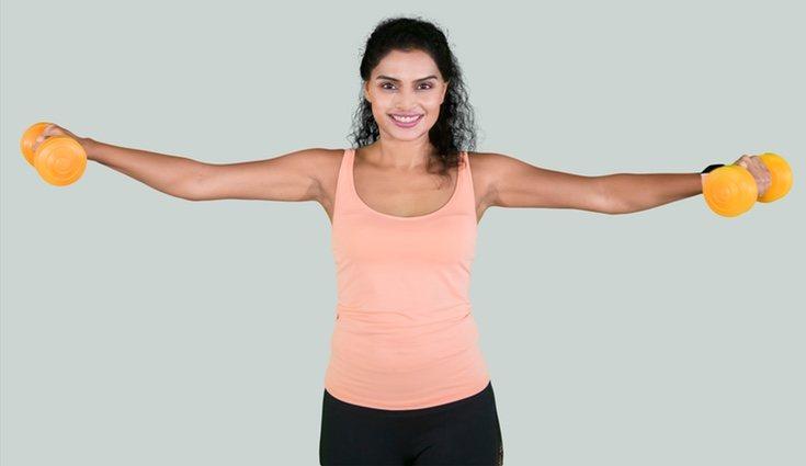 Es importante trabajar las tres grandes musculaturas: espalda, pecho y piernas