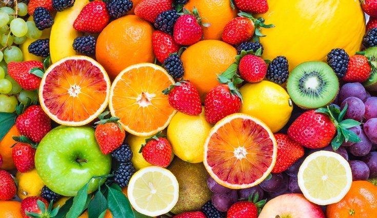 Las frutas cuentan a su vez con un alto poder antioxidante