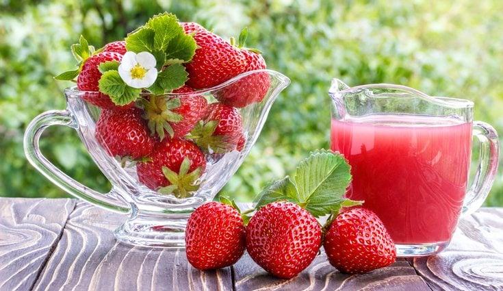 Las fresas es una de las frutas que mas vitaminas tienen