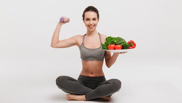 Comer verduras crudas elimina la sensación de pesadez