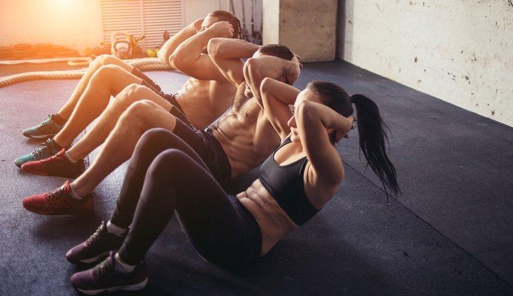 Un buen ejercicio de la zona abdominal ayudará a prevenir futuros problemas