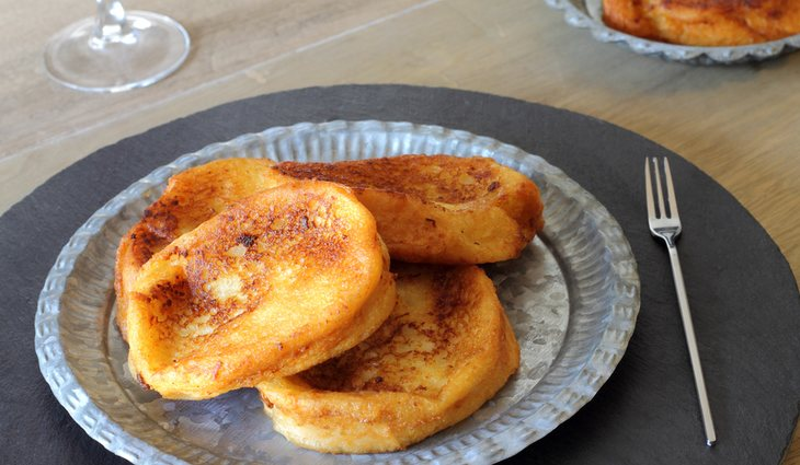 Las torrijas son un dulce típico de la Semana Santa