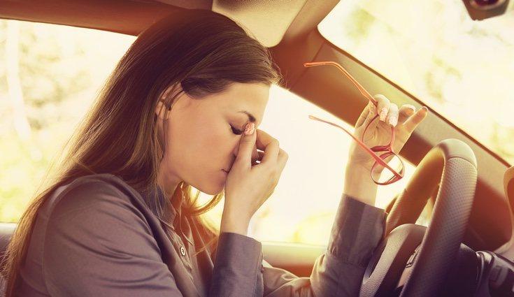 Es convieniente evitar coger el coche si padeces fatiga