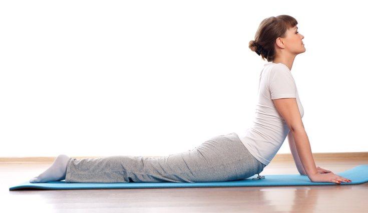 Es importante mantener una postura adecuada mientras se realiza un ejercicio
