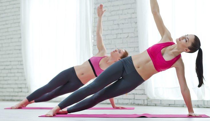 El Booty Barre recoge ejercicios de pilates