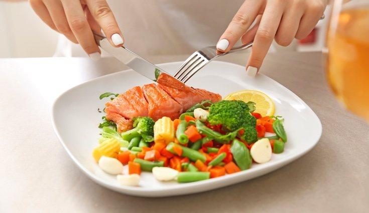 Es muy importante comer alimentos naturales