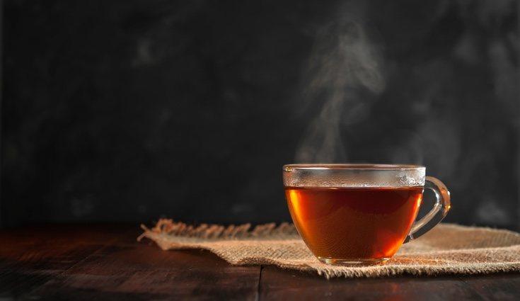 El té negro cuenta con más teína que otras clases de té