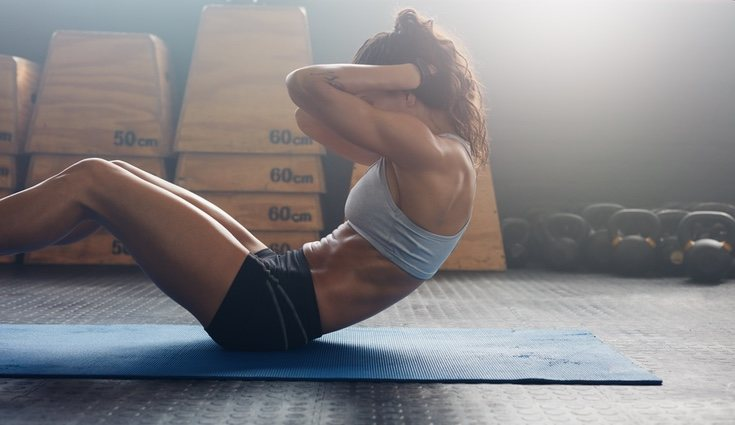 La genética influye mucho en el abdomen, pero con ejercicio y constancia todo puede cambiar