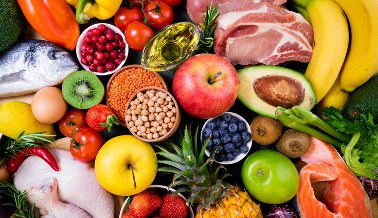 Existe una gran variedad de alimentos sanos que no contienen sal