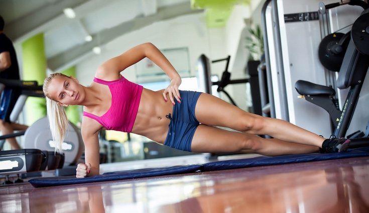 Las planchas son ejercicios propios de este tipo de entrenamiento