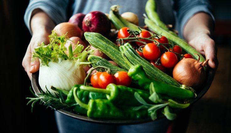 Combina diferentes verduras para obtener todas las vitaminas y nutrientes posibles
