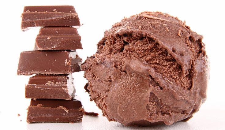 Un helado de chocolate sano y casero es posible