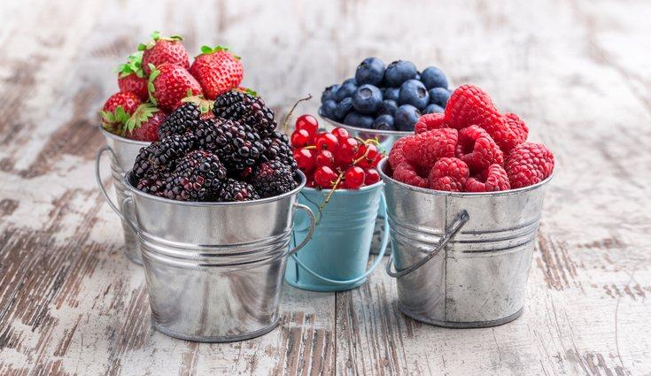 Existen multitud de tipos de frutos rojos según la época del año