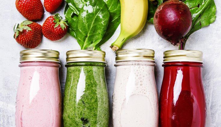 La combinación de zumos de frutas es variada y se adapta a los gustos de todos