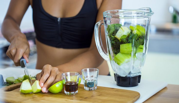 Lo óptimo es combinar el ejercicio con la alimentación a base de zumo de frutas