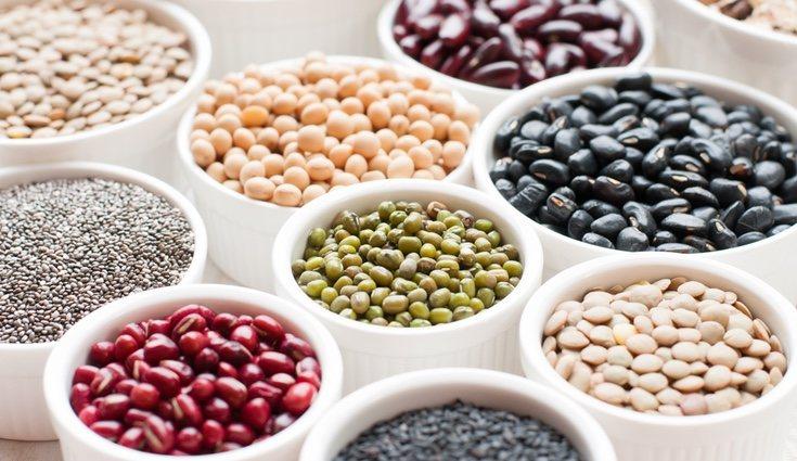 Las habas y las lentejas son las legumbres más ricas en hierro