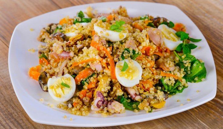 Sustituye el arroz por la quinoa